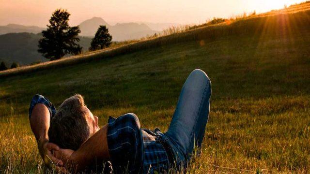El mejor estado de la vida no es estar enamorados, es estar tranquilos